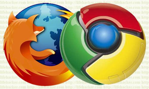 Chrome devant Firefox
