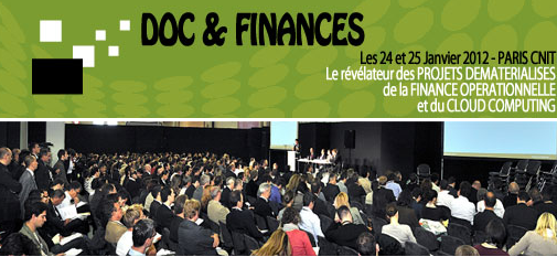 Cloud computing au Doc et Finances 2012